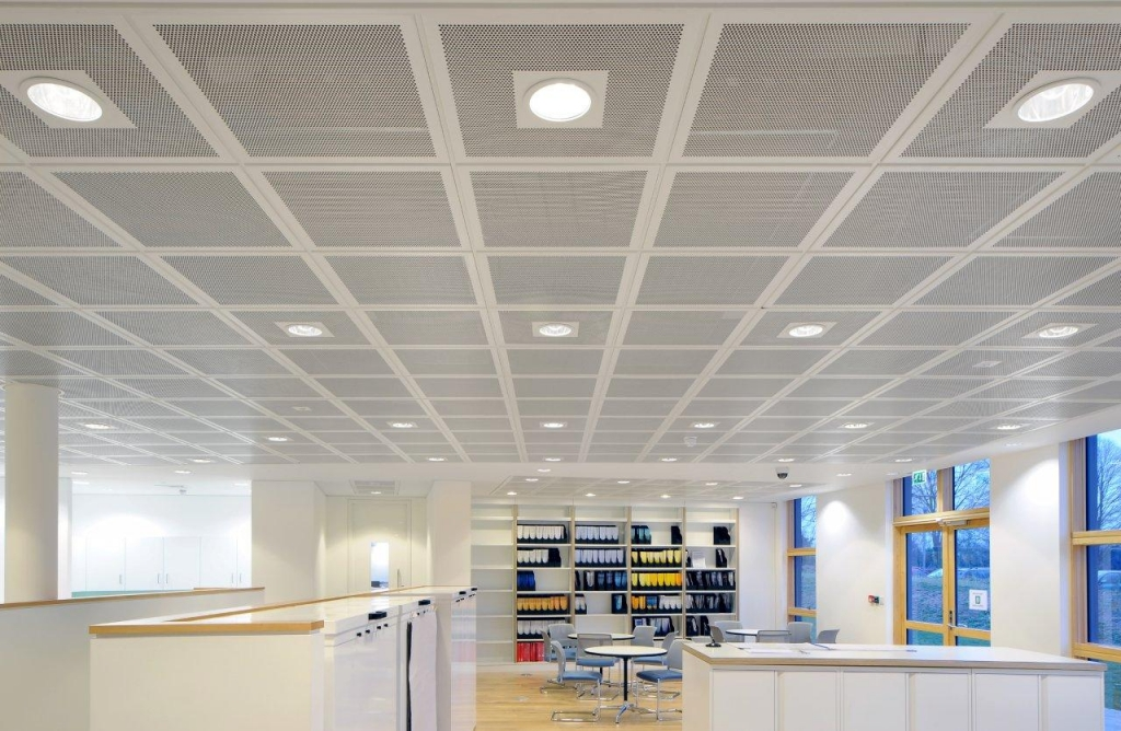 Suspended And Plasterboard Office Ceiling Supplier