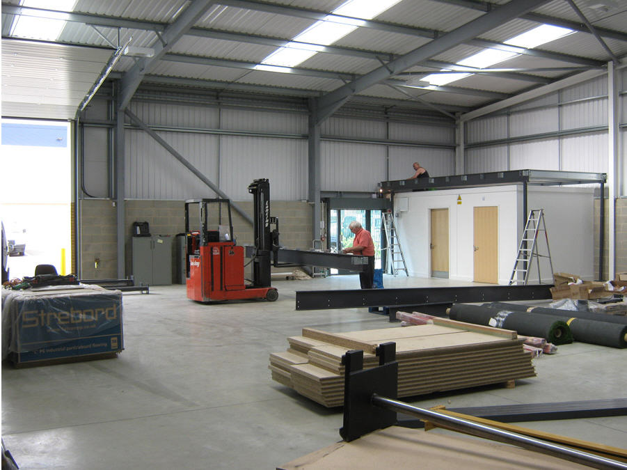 Mezzanine Floor Assembly 3
