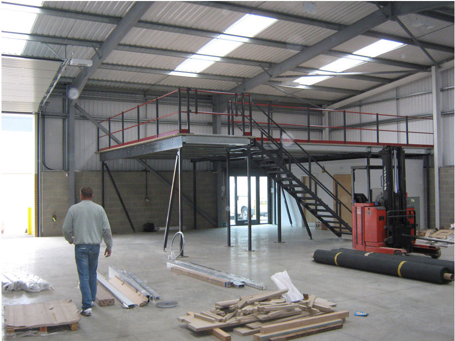 Mezzanine Floor Assembly 4