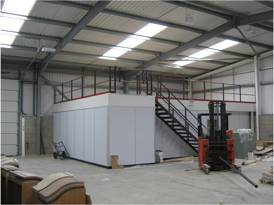 Mezzanine Floor Assembly 5
