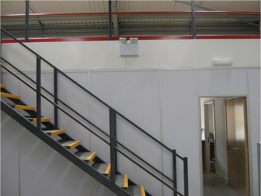 Mezzanine Floor Assembly 6