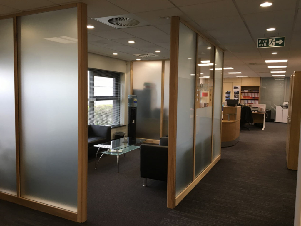 Office Partitioning Systems Supplier Northamptonshire Uk