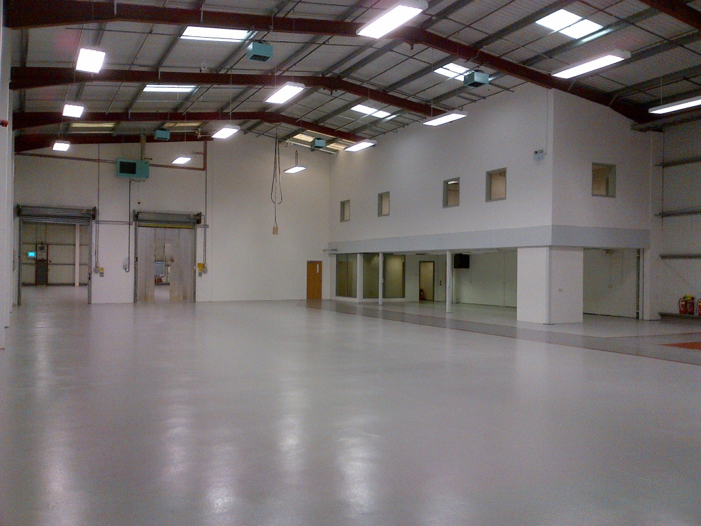 Office Mezzanine installed by Cubex Contracts Northants
