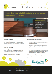 download our customer story on office design, space planning and refurbishment