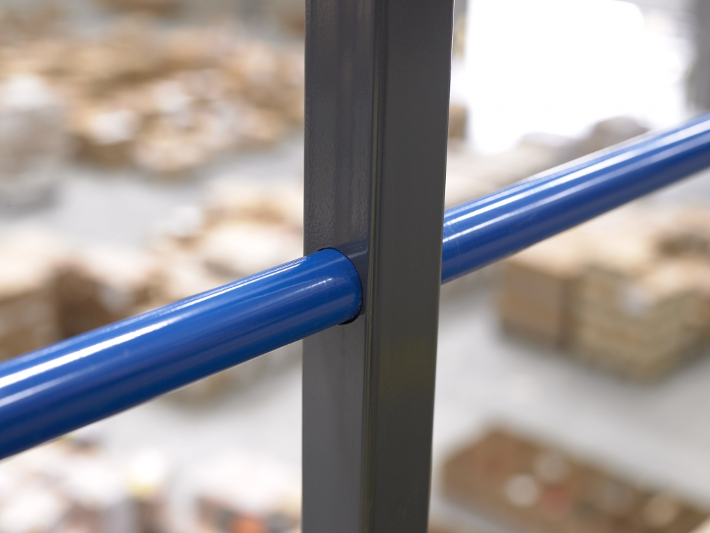 Mezzanine Edge Protection Rail