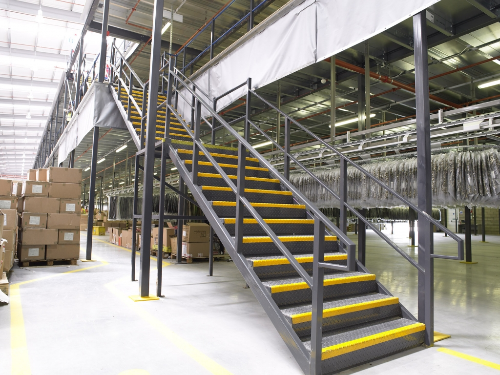 Part M Mezzanine Staircase