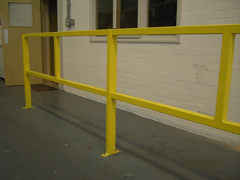 Pedestrian Walkway Protection Barrier