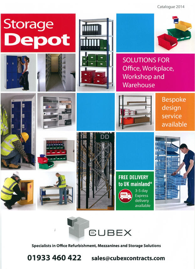 Cubex Contracts Office Storage Solutions Catalogue 2014