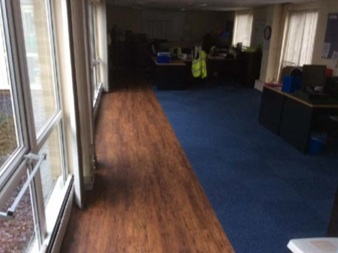 Saint Gobain Corby - main office after photo