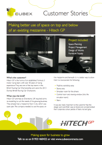 Hitech GP Silverstone Refurbishment and Interior Design Case Study