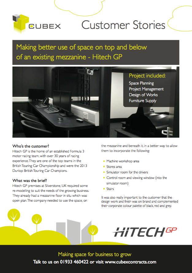 Hitech GP Silverstone Refurbishment and Interior Design Case Study