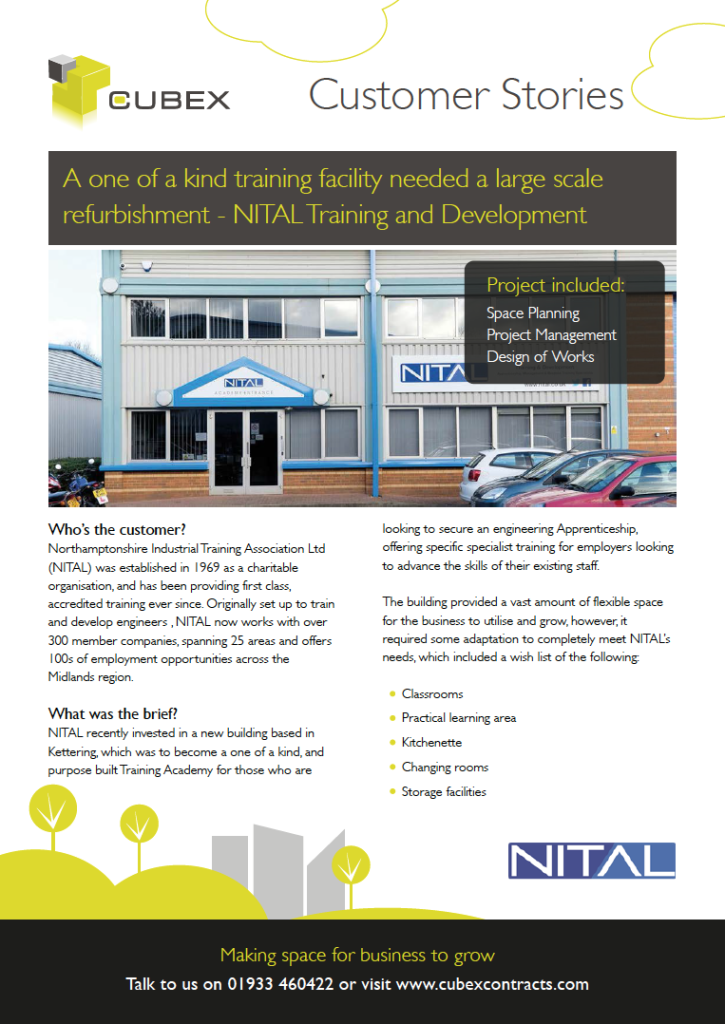 NITAL refurbishment for a unique training facility case study