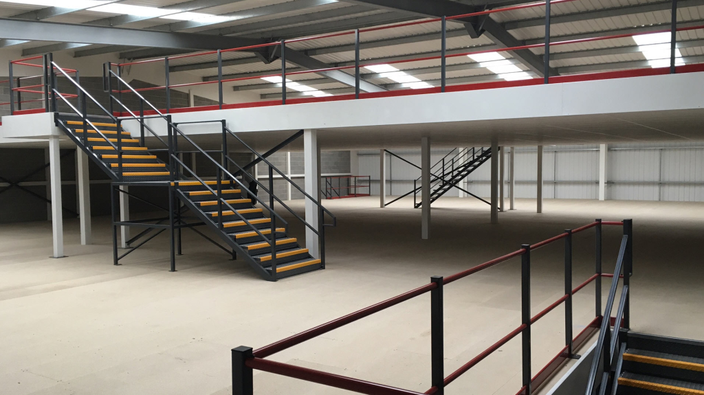 2 Storey Storage Mezzanine By Cubex Contracts