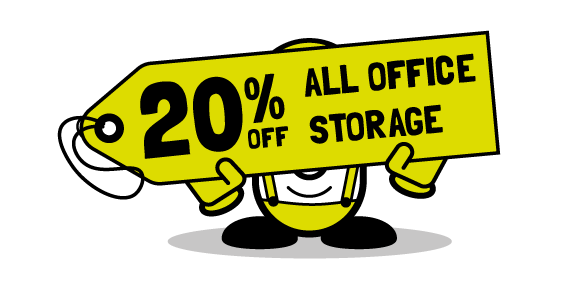 20 percent all office storage from Cubex Contracts Northants until Dec 31st 2016