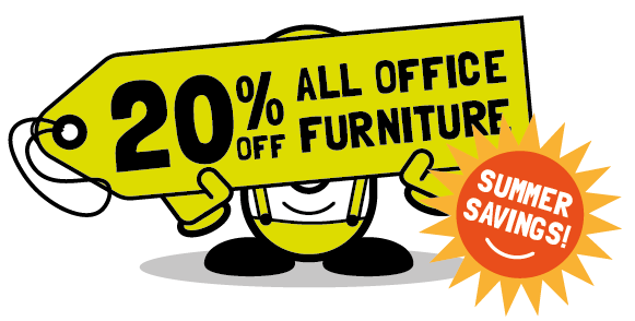 20% off all office furniture in June - with Cubex Contracts