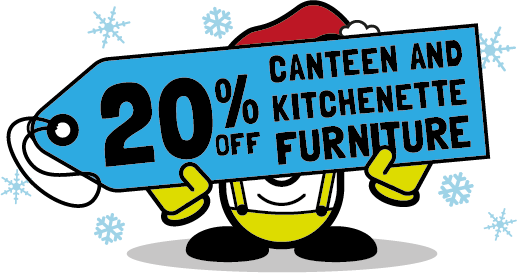 20% off canteen and kitchen furniture from Cubex Contracts