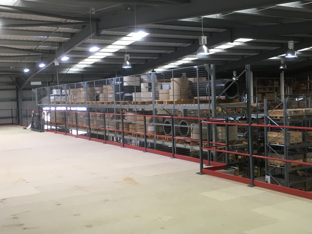 ARP Storage Mezzanine