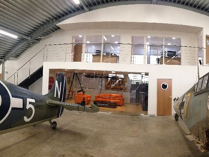 Air Leasing Hanger Fit Out