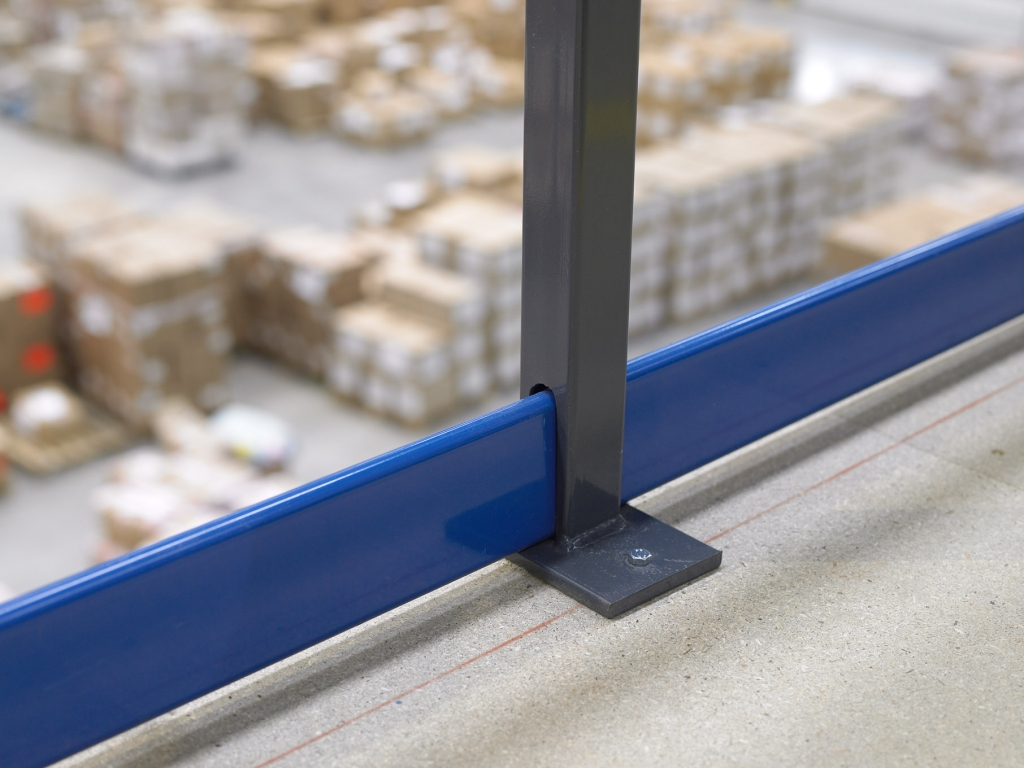 Mezzanine Edge Protection Kick Plate