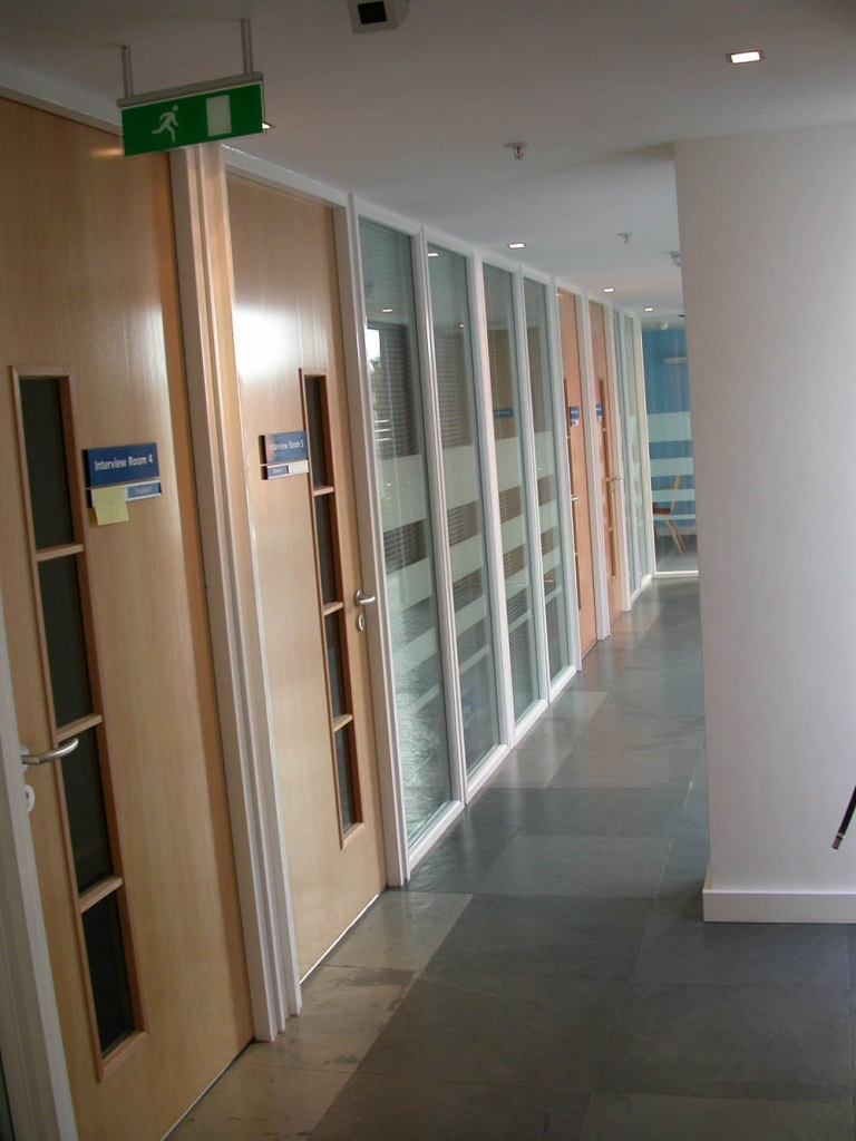 Office Partitioning Doors, available from Cubex Contracts.