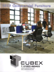 2019 office furniture brochure - available from Cubex Contracts Northampton