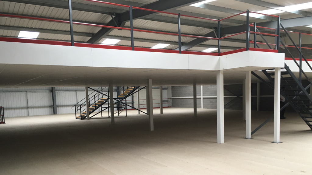 Two Tier Storage Mezzanine By Cubex Contracts