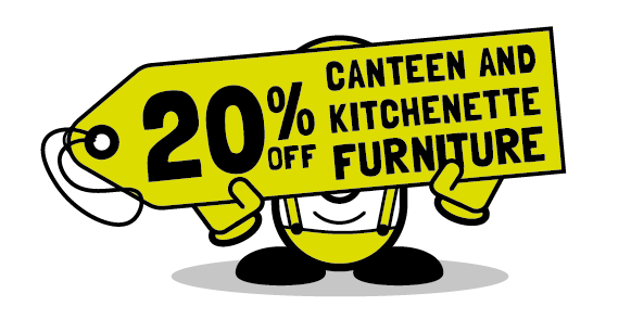 20% off canteen and kitchenette furniture from Cubex Contracts Northants