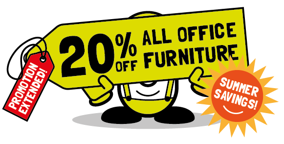 20% off all office furniture in July - with Cubex Contracts