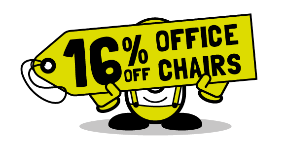 16% off office chairs from Cubex Contracts Northants - offer ends August 31st 2017