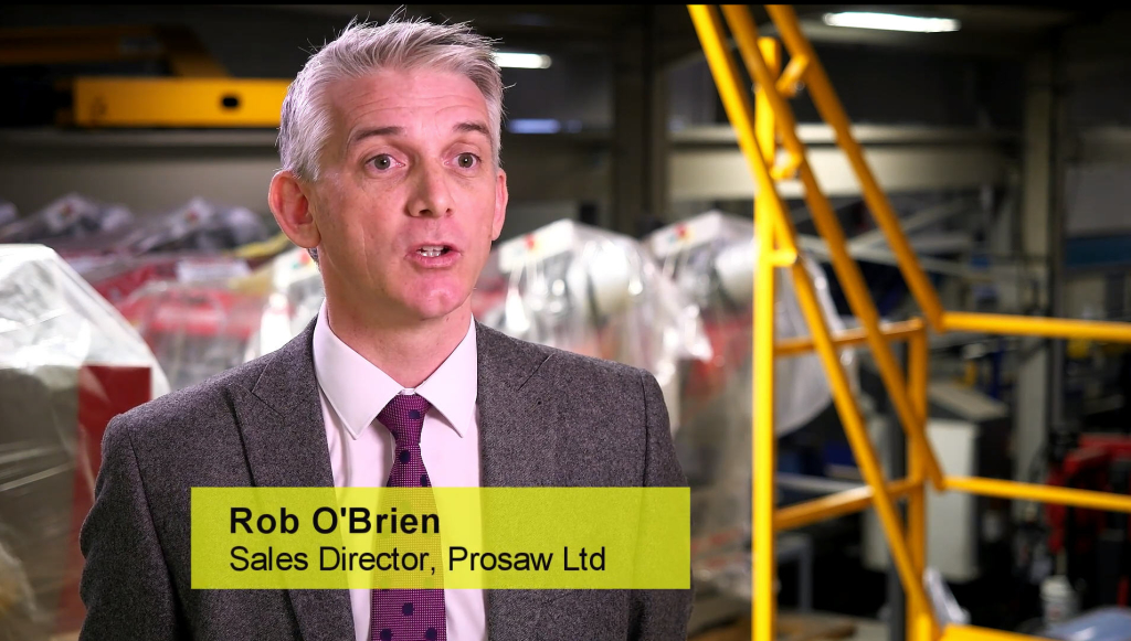 Video Image Rob O Brien Prosaw Ltd