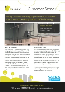 SATRA case study cover image