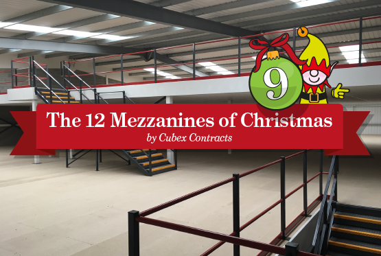 Two storey mezzanine for Larsson UK to help them increase storage space to hold more items, improving delivery times to customers and avoiding the need to relocate the business to larger premises.