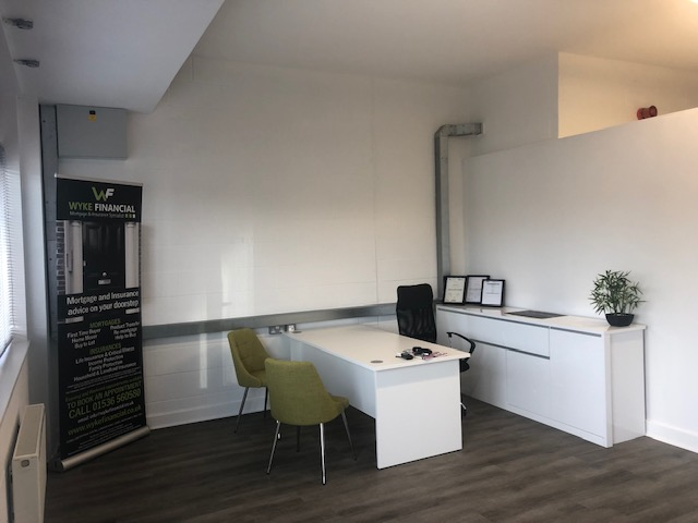 office space with no privacy - Wyke Financial