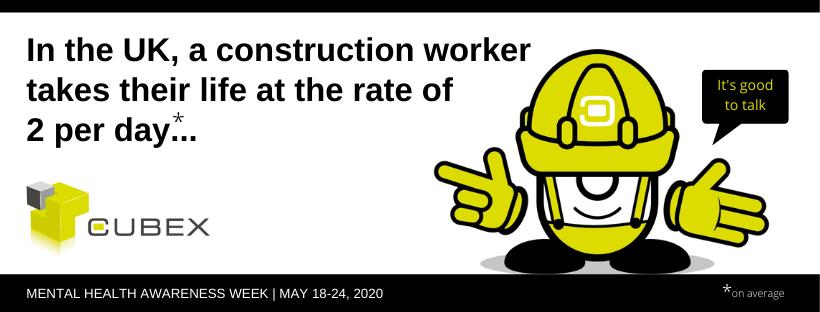 mental health awareness week - construction industry
