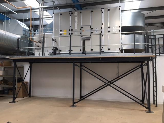 satra-maintenance-equipment-mezzanine-install