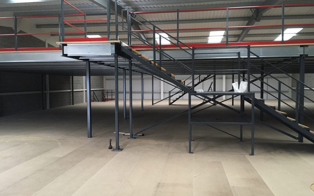 What factors are important when designing for a Mezzanine Floor project?