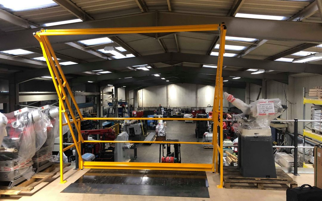 Installing a Pallet Gate in your Industrial Workspace